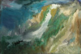 Near to hight (30x20 wood,oil-colors)(private ownership)