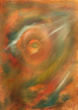 Sight from the core (50x70, canvas, oil-colors)(private ownership)