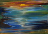 Sunset (70x50 canvas, oil-colors) (private ownership)