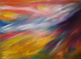 Crystal sonata (70x50 canvas, oil-colors, private ownership)